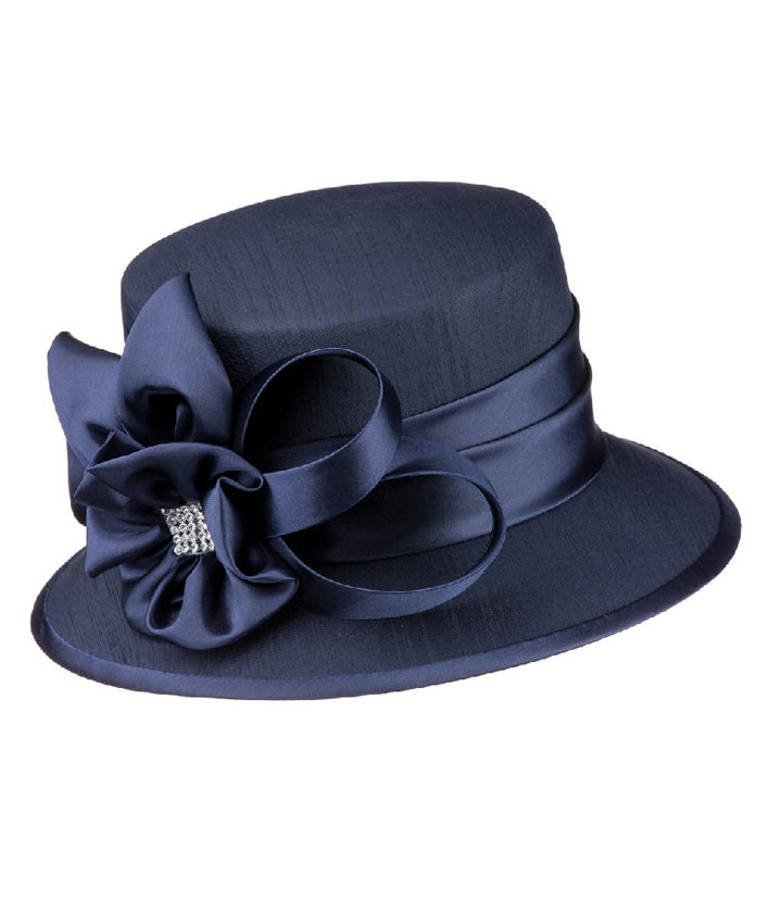 Giovanna Hat HM944-Navy - Church Suits For Less