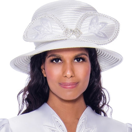 GMI Church Hat 8052-White
