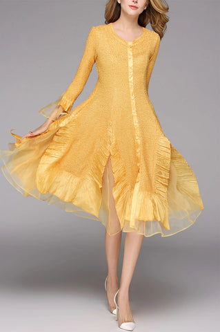 Jerry T Dress SR113-Gold