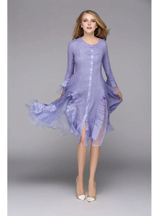 Jerry T Dress SR113-Lavender - Church Suits For Less