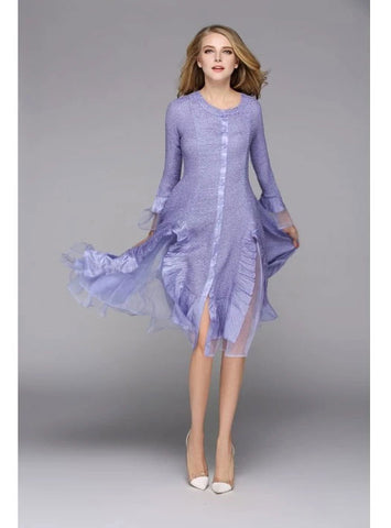 Jerry T Dress SR113-Lavender