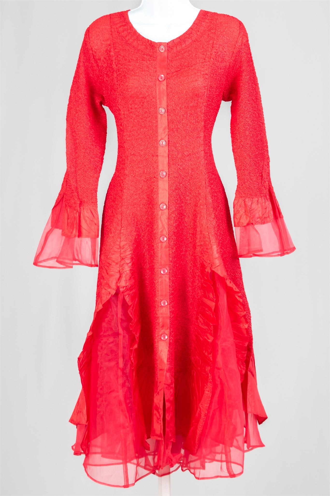 Jerry T Dress SR113-Red - Church Suits For Less
