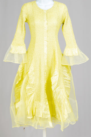 Jerry T Dress SR113-Yellow