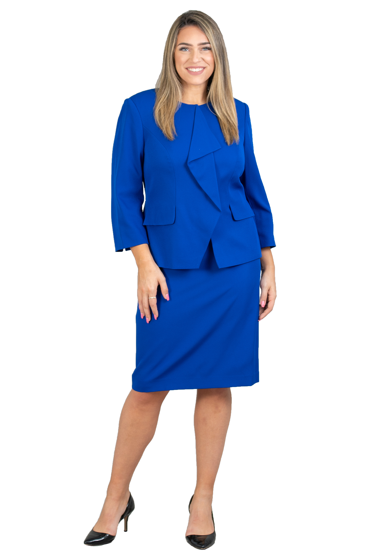 John Meyer Skirt Suit 875C125 - Church Suits For Less