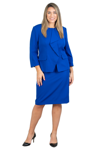 John Meyer Skirt Suit 875C125