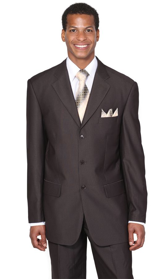 Milano Moda Suit MD5802-Brown - Church Suits For Less