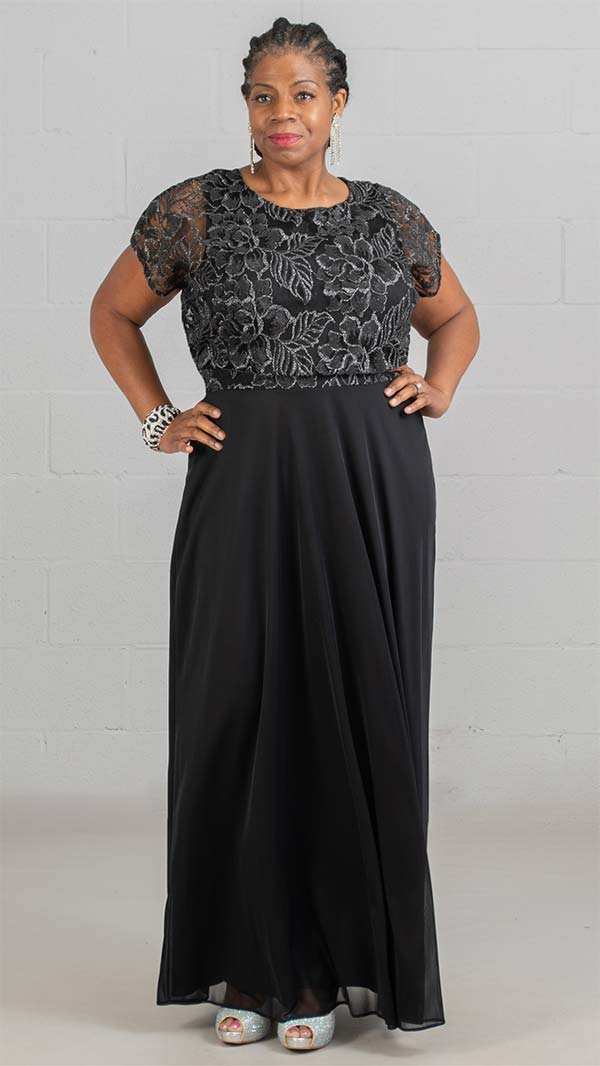 Marina Dress 291093-Black - Church Suits For Less