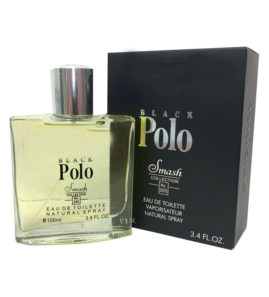 Men Cologne Black Polo - Church Suits For Less