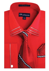 Milano Moda Shirt SG-28-Red - Church Suits For Less