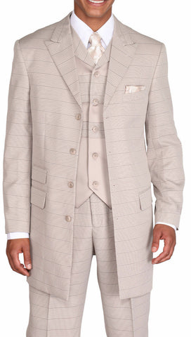 Milano Moda Men Suit 9151C-Grey - Church Suits For Less