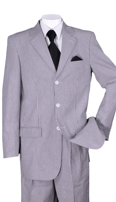 Fortino Landi Men Suit ST802-Black - Church Suits For Less