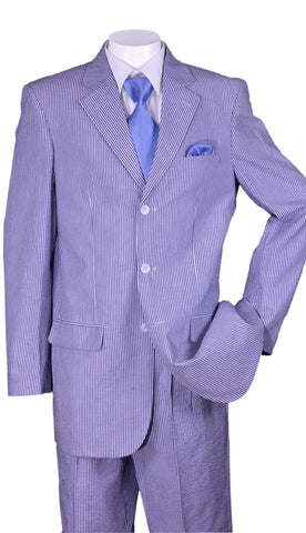 Fortino Landi Men Suit ST802-Blue