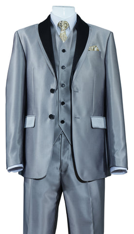 Fortino Landi Suit 5702V5-Grey - Church Suits For Less