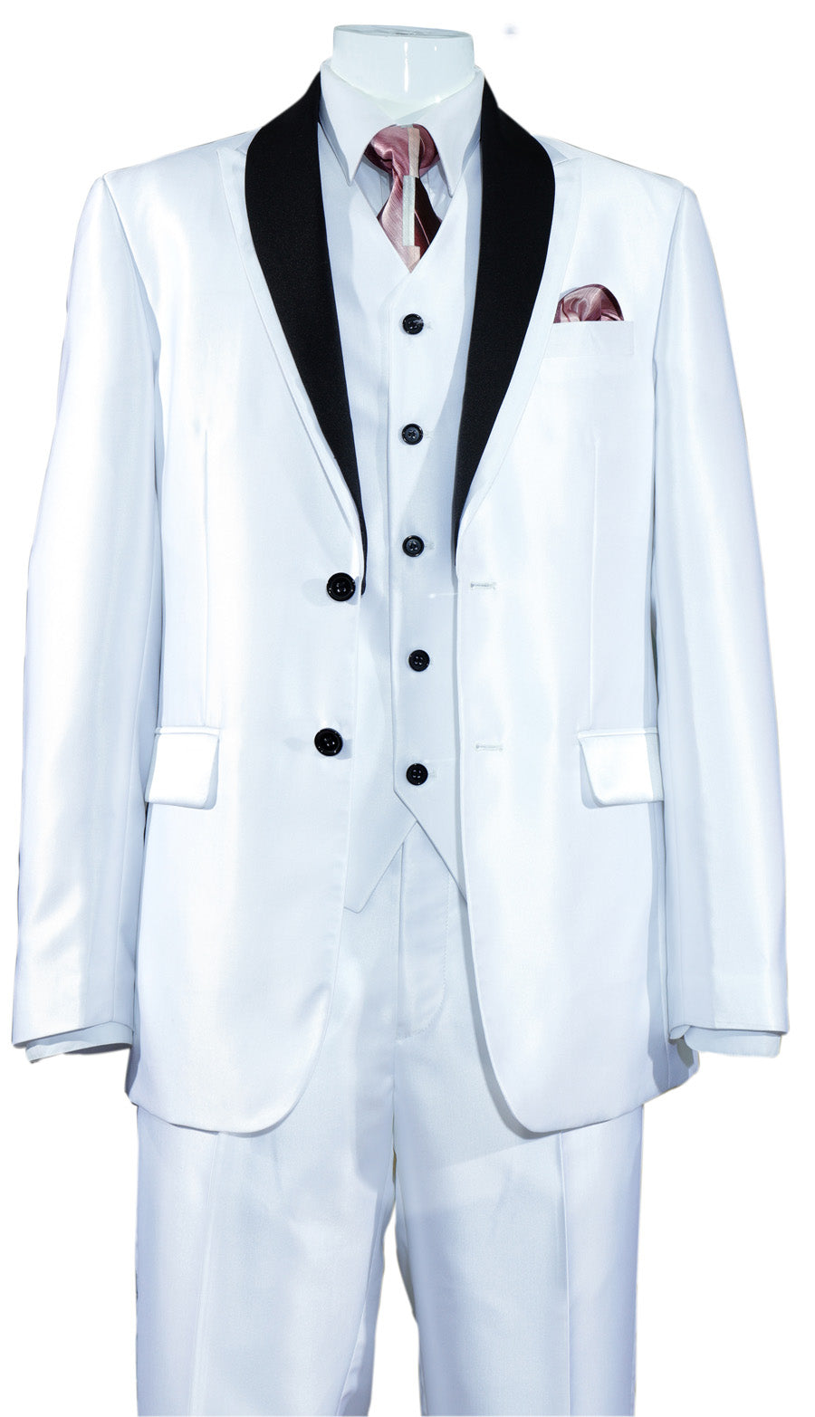 Fortino Landi Suit 5702V5-White - Church Suits For Less