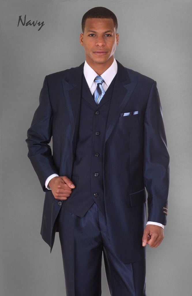 Milano Moda Suit 5907VC-Navy - Church Suits For Less
