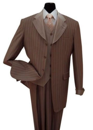 Milano Moda Suit 2911V-Brown - Church Suits For Less
