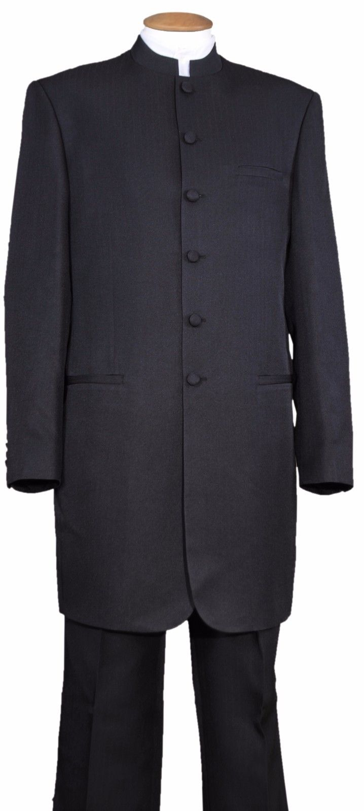 Fortino Landi Suit 6905H-Black - Church Suits For Less