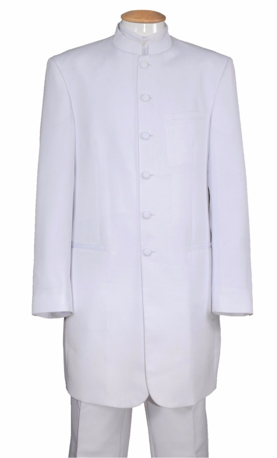 Fortino Landi Suit 6905H-White - Church Suits For Less