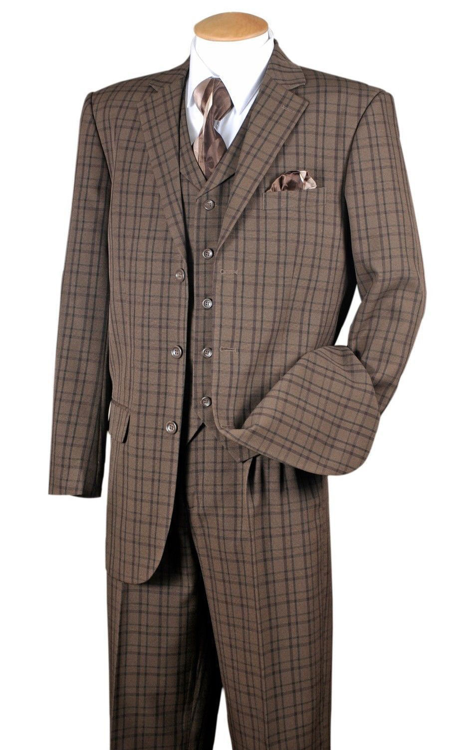 Milano Moda Suit 5802V6-Brown - Church Suits For Less