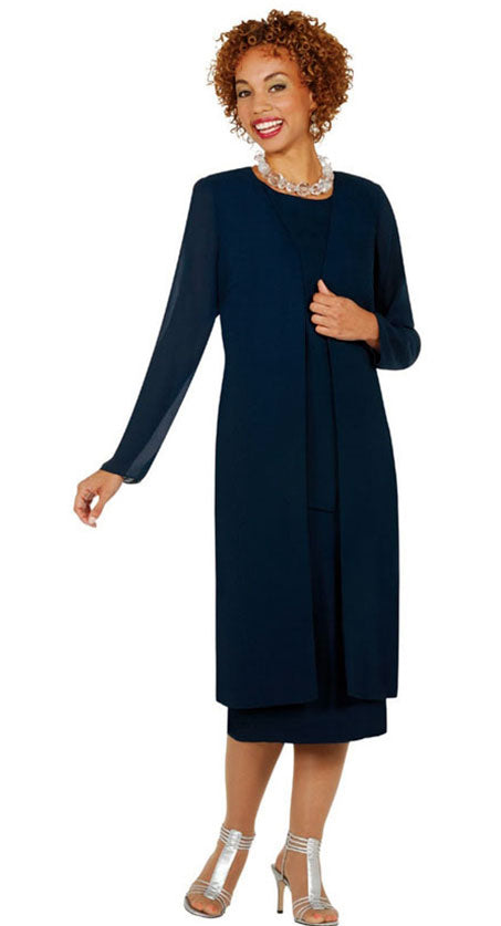 Misty Lane Usher Suit 13058-Navy - Church Suits For Less