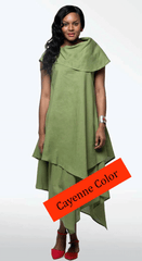 Moshita Linen Set 6266C-Cayenne - Church Suits For Less