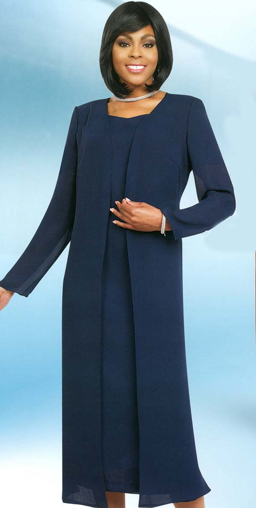 Misty Lane Usher Suit 13059-Navy - Church Suits For Less