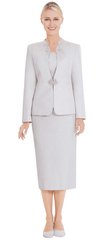 Nina Massini Suit 2578-Sand - Church Suits For Less