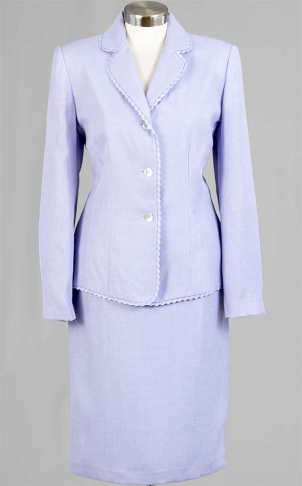 Women Business Skirt Suit 90507-Lilac - Church Suits For Less
