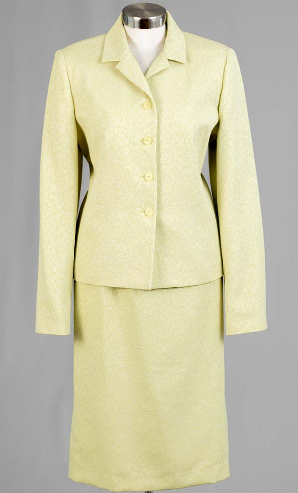 Women Business Skirt Suit 90600-Sage - Church Suits For Less