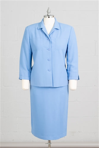 Women Business Skirt Suit 90621-Lilac - Church Suits For Less
