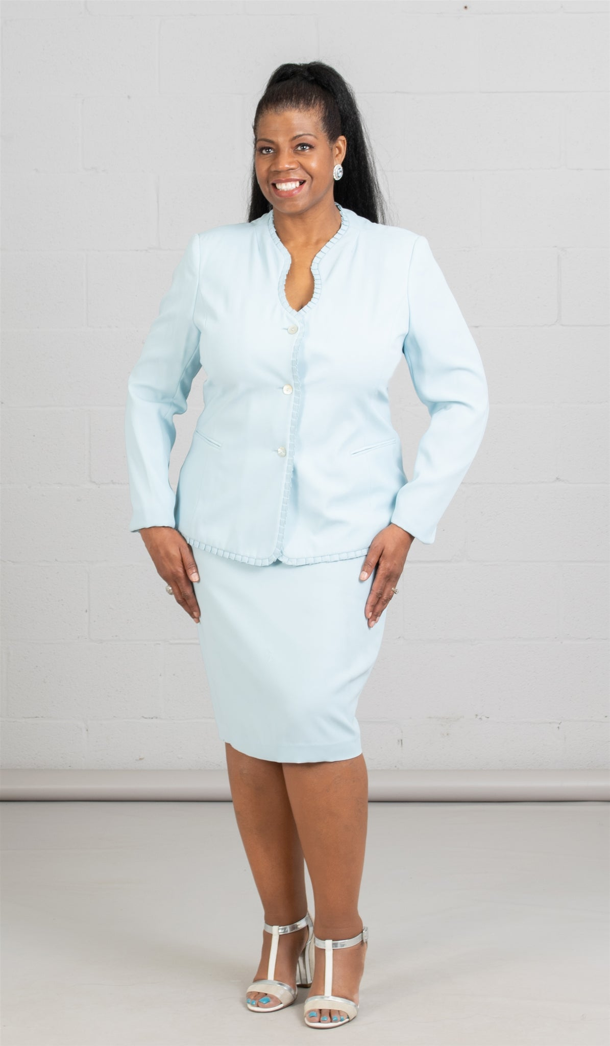 Women Business Skirt Suit 90514 - Church Suits For Less
