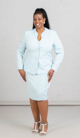 Women Business Skirt Suit 90514