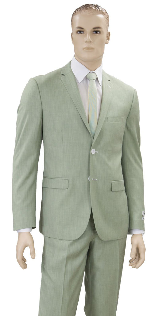 Vittorio St. Angelo Men suit S62DMC-Mint - Church Suits For Less