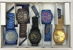 Men Sport Watch Sample Pack 001-Assorted - Church Suits For Less