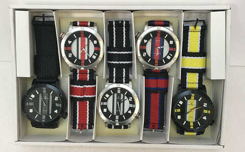 Men Sport Watch Sample Pack 005-Assorted - Church Suits For Less