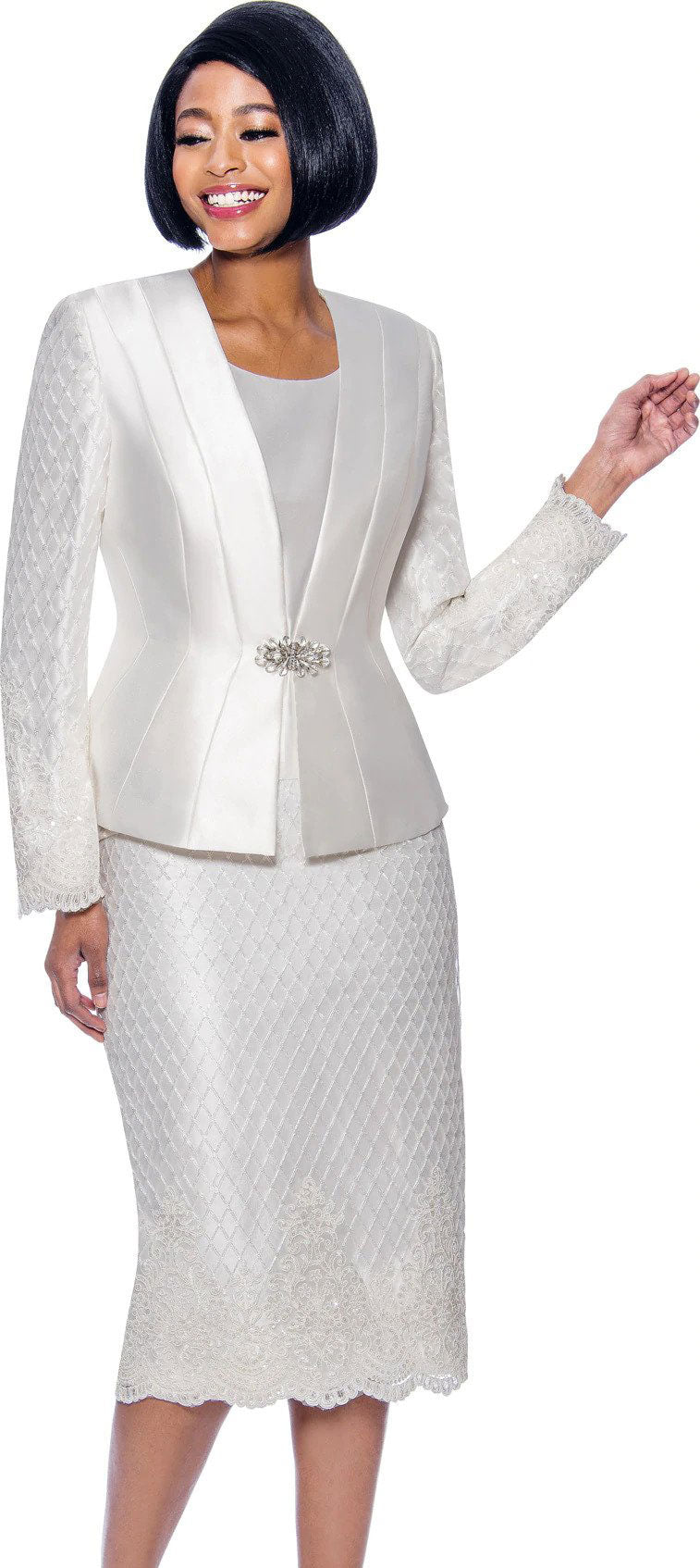 Susanna Suit 3958 - Church Suits For Less