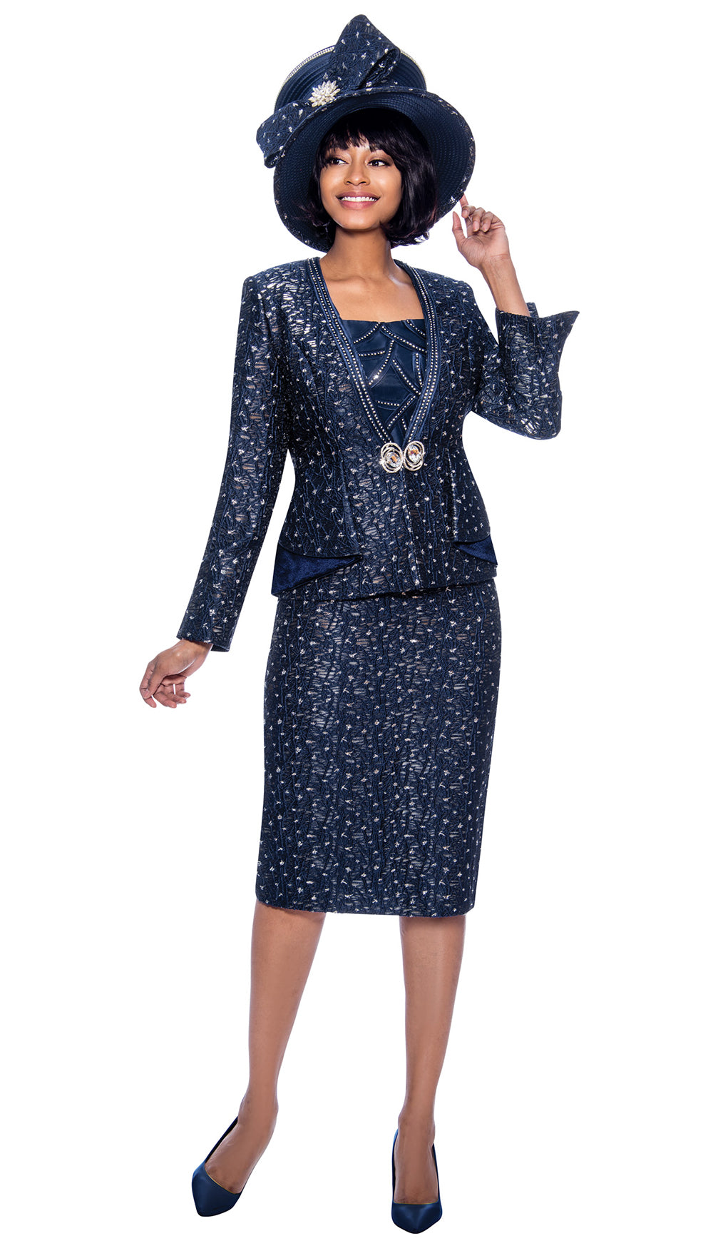 Susanna Suit 3963 - Church Suits For Less