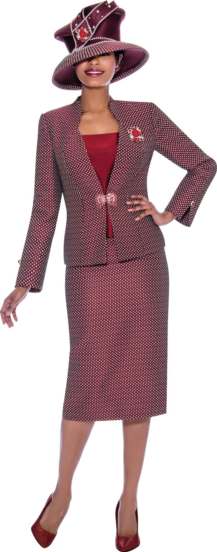 Susanna Suit 3920 - Church Suits For Less