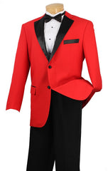 Men Tuxedo T-2FF-Red - Church Suits For Less