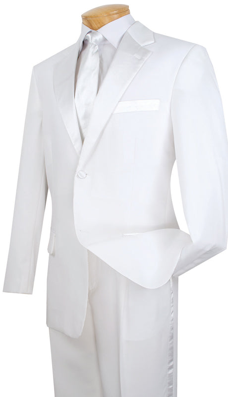 Men Tuxedo T-2PP-White - Church Suits For Less