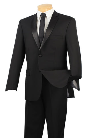 Vinci Tuxedo T-SC900-Black - Church Suits For Less