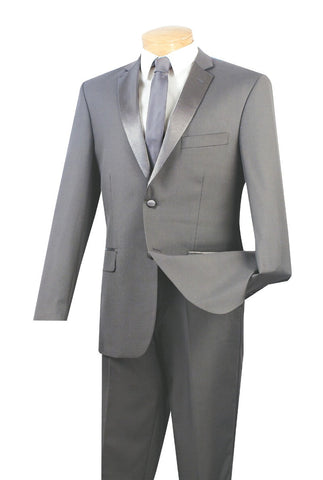Men Tuxedo T-SC900-Grey - Church Suits For Less