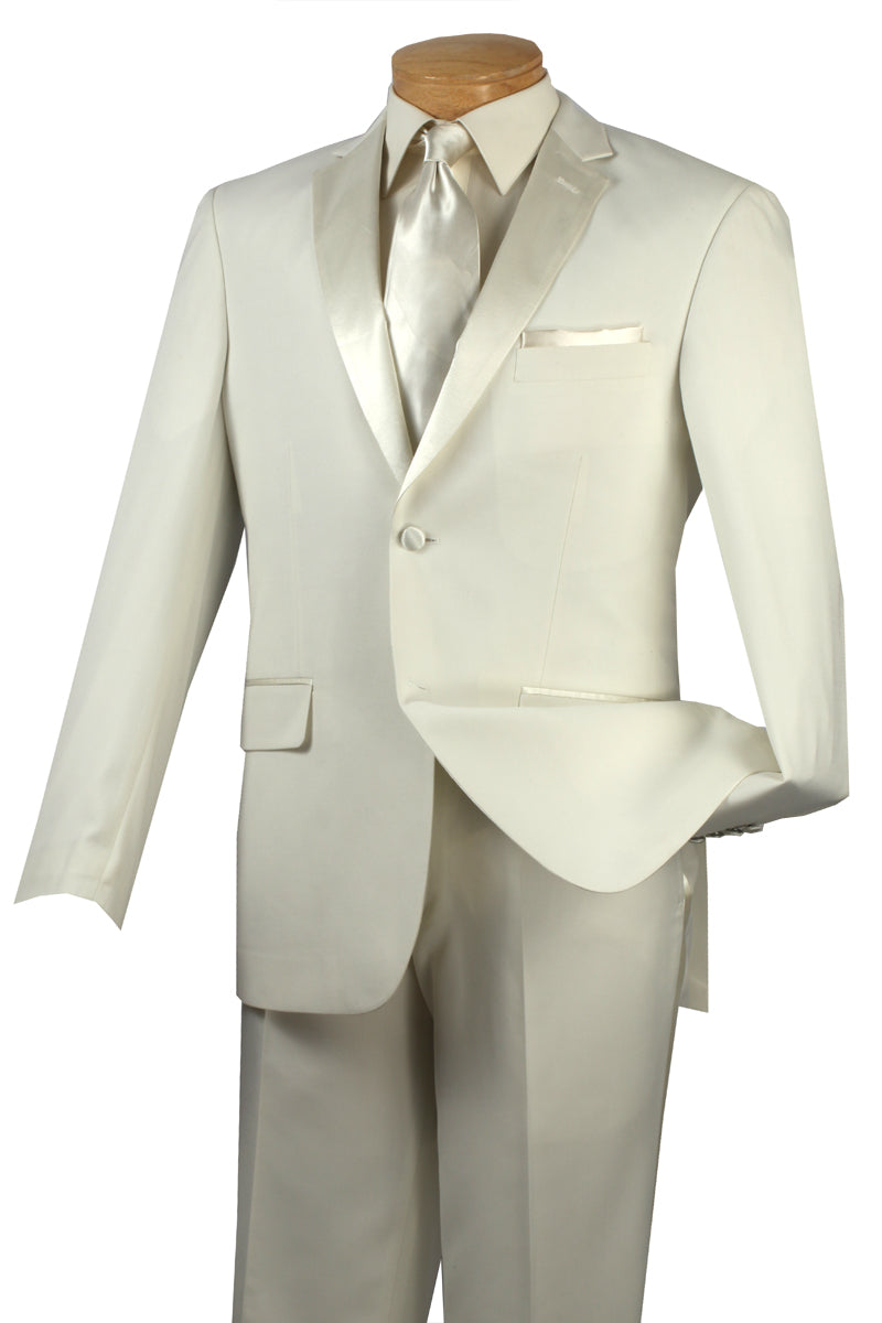 Vinci Tuxedo T-SC900-Ivory - Church Suits For Less