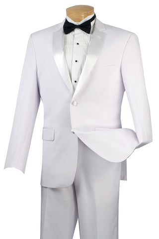 Vinci Tuxedo T-SC900-White - Church Suits For Less