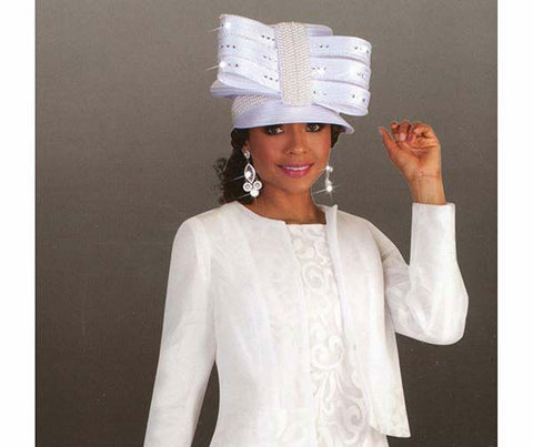 Tally Taylor Hat 4644-White