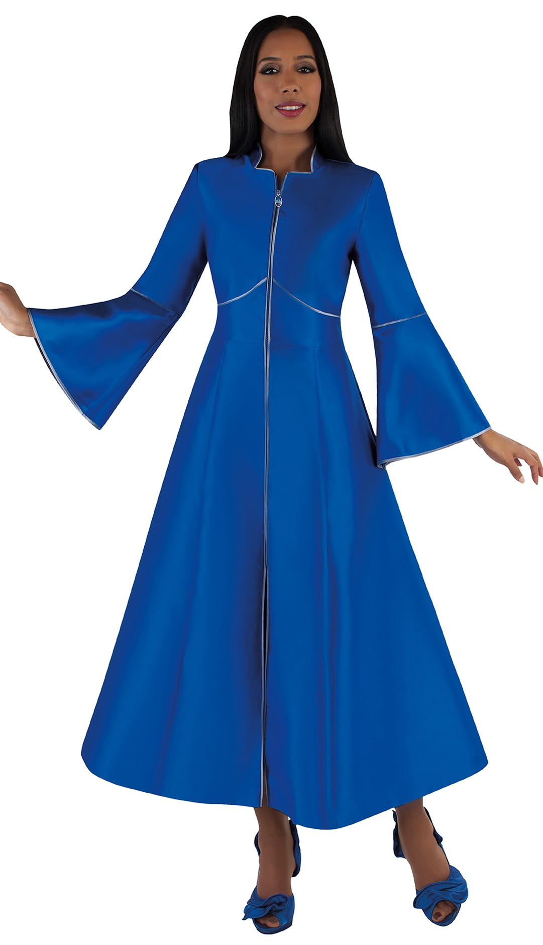 Tally Taylor Church Robe 4731-Royal - Church Suits For Less