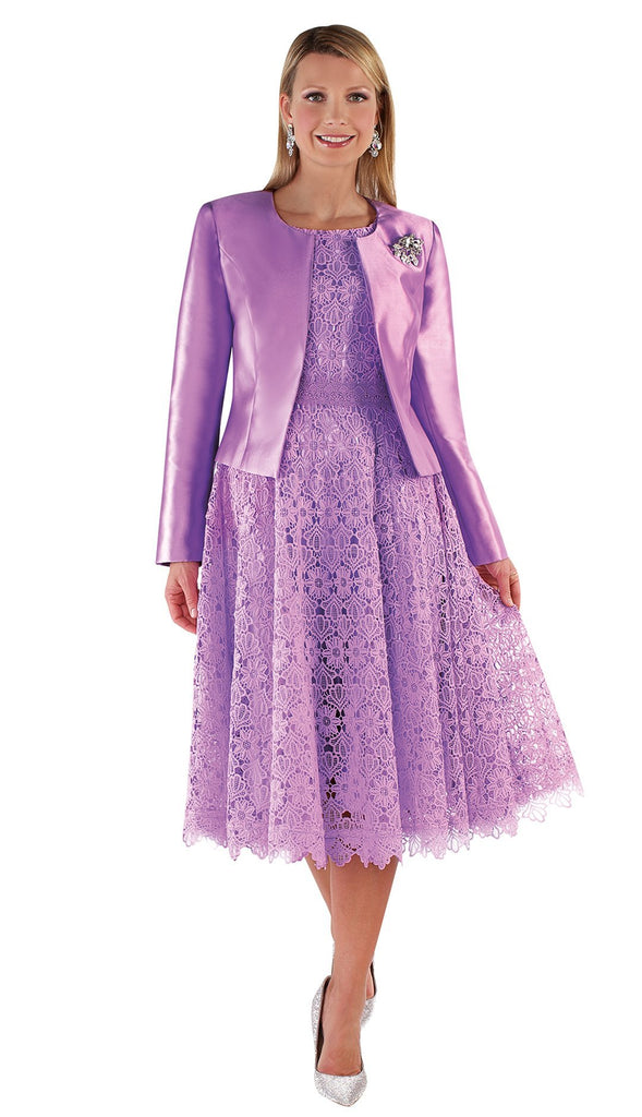 Tally Taylor Dress 4529-Lavender - Church Suits For Less