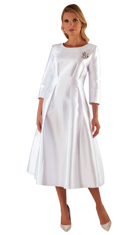 Tally Taylor Dress 4726-White - Church Suits For Less