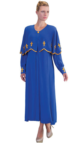 Tally Taylor Dress 3257-Royal Blue - Church Suits For Less