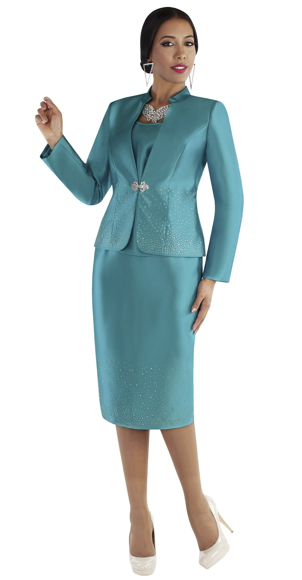 Tally Taylor Suit 4684 - Church Suits For Less